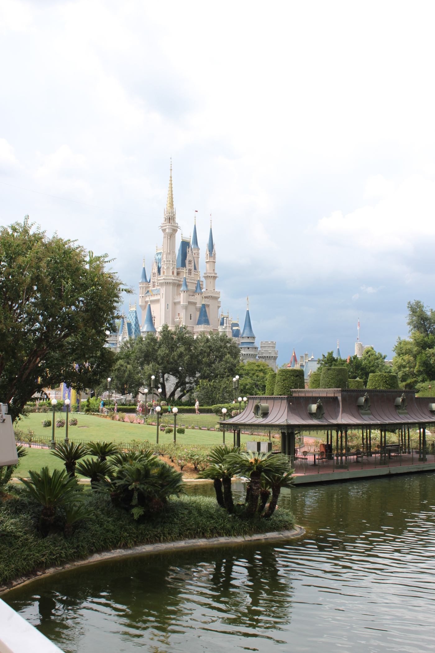 One of my favourite pictures that I've taken; taken from the Magic Kingdom Railroad.